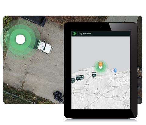 Map Based Dispatching