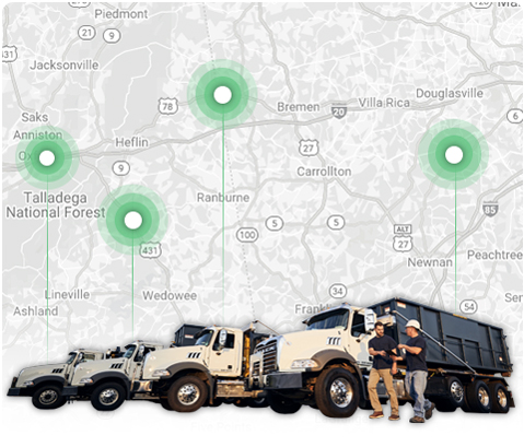 Map View of Assets and Trucks