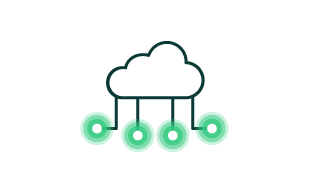Cloud with Connected Dots